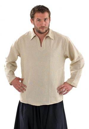 Shirt relax col hemp