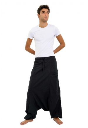 Harem Pants black Mikos