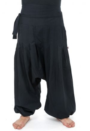 Harem pants basic zen Yuma black