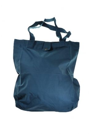 Bag tote bag printed cotton happy blue koh tao blue