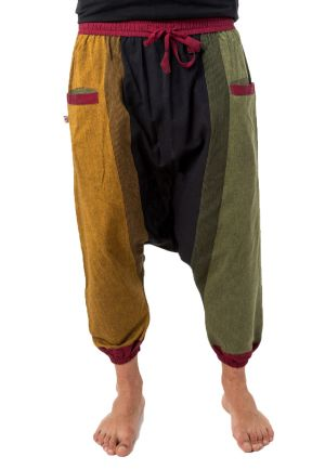 Harem pants hippy men light cotton Rasta Jayjay