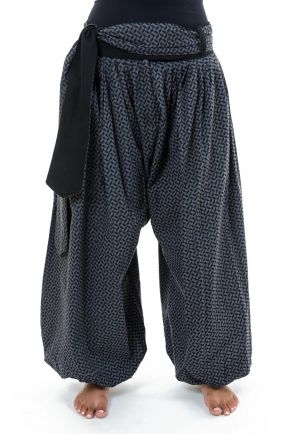 Aladdin puffy harem pants Naima