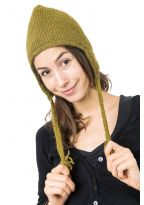 Khakis hat pure wool and soft fleece from Nepal
