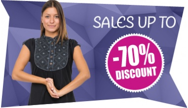 SALES UP TO 70% OFF + DELIVERY DICE € 40 ACROSS MAINLAND FRANCE